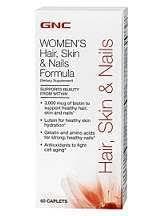 gnc hair skin and nails formula review