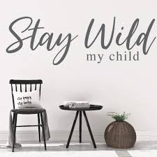 Adventure Decal Stay Wild Wall Decal Rb104 Designedbeginnings