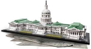 Lego Architecture United States Capitol Building Blocks Grihaparivar Com