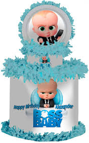 The Boss Baby Large Personalized Pinata Bebe Jefe Cumpleanos