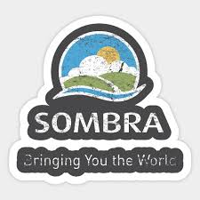 Sombra Corporation Dark Tower Sticker Teepublic