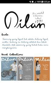 novel dilan milea for android apk