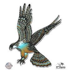 Eagle Bird Of Prey Colorful Tangle Art Design 5 Vinyl Sticker For Car Laptop I Pad Waterproof Decal Walmart Com Walmart Com