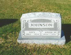 "Adeline Bell ""Addie"" Woodring Johnson (1876-1956) - Find A Grave Memorial"
