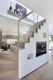 living room under stairs storage ideas