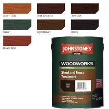 Johnstones Shed Fence Treatment Green 5l 5010426671826 Ebay