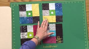How To Make The Chain Link Quilt Youtube