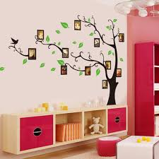 Aspen Tree Wall Mural Uk Wallpaper Decal Family Design Modern Lily Nursery With Picture Frames Diy Vamosrayos