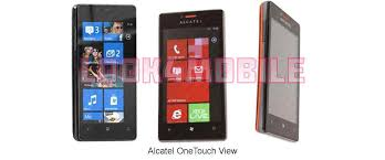Alcatel OneTouch View - features ...