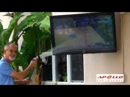 apollo outdoor tv enclosure easy