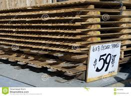 Stack Of Stockade Fence Editorial Photography Image Of Security 99789892