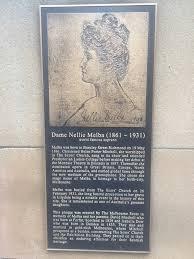 "Julia Baird on Twitter: ""Memorial plaque for Dame Nellie Melba, Collins St  Melbourne. Next, a statue? #statuesofwomen… """