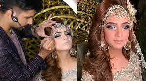 beautiful bridal makeup by kashee s