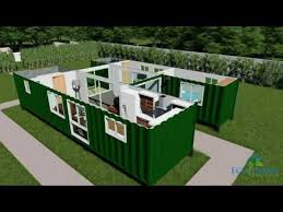 container house floor plan