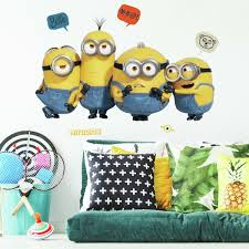 Minions The Rise Of Gru Peel And Stick Giant Wall Decals
