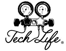 Tech Life Vinyl Decal Large Hvac Tech Life