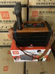 Loa Xách Tay Karaoke Bluetooth JBZ JB 0606 Chất Âm Cực Hay -tặng kèm 2 mic  không dây - CUNG CẤP LOA KÉO CÁC LOẠI