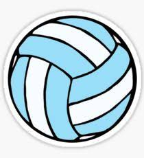 Volleyball Stickers Preppy Stickers Red Bubble Stickers Bubble Stickers
