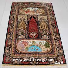 china tree of life design persian silk