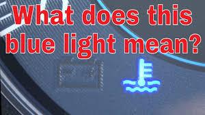 blue light on my subaru dashboard