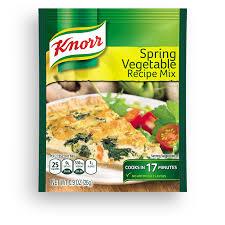 knorr recipe clics spring