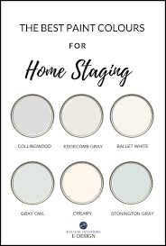 neutral paint colours for home staging