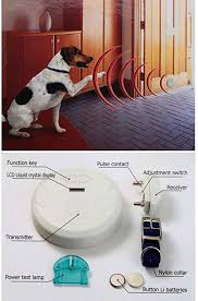 Dog Fences Indoor Digital Electronic Invisible Fence Wireless Barrier Grid Guard Pet Manager Amazon Ca Home Kitchen