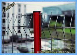 6ft Decorative Wire Mesh Curved Metal Fence Green Vinyl Coated Nylon 3d Border For Sale Curved Metal Fence Manufacturer From China 109452847