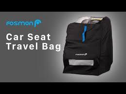 car seat travel bag for airplane nylon
