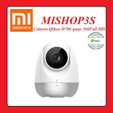 Camera giám sát IP Qihoo 360 D706 Full HD 1080 - Bản Quốc Tế - Quay 360 độ,  Đàm thoại 2 chiều - Hồng ngoại ban đêm