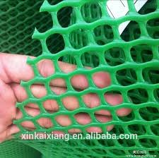white plastic fencing mesh small hole
