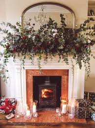 how to make this fireplace garland
