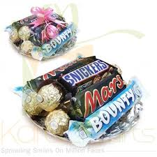 chocolates gift pack to karachi