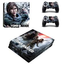 Rise Of The Tomb Raider Ps4 Pro Skin Sticker Consoleskins Co