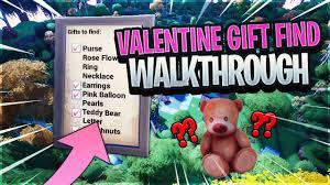 valentine gift find walkthrough you