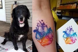 Tatuaz W Ksztalcie Lapy Psa Zobacz Najlepsze Pomysly Na Zdjeciach
