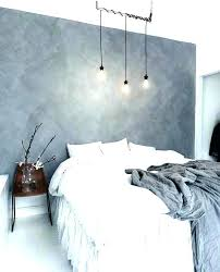 blue grey accent wall living room