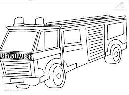 Kleurplaten Beroepen Brandweer Kleurplaat Brandweerauto