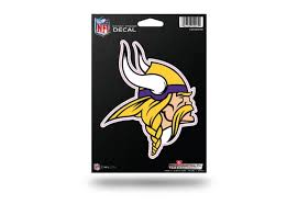 Nfl Football Minnesota Vikings Window Decal Sticker Officially Licensed Custom Sticker Shop