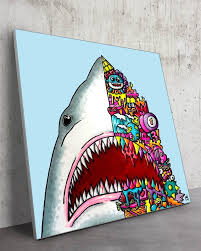 Jaws Big Wall Decor