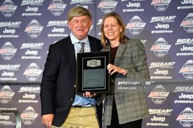 Commissioner Val Ackerman of the Big East Conference awards writer... News  Photo - Getty Images