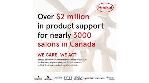 henkel beauty professional canada to
