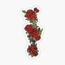 Rose Stickers Redbubble