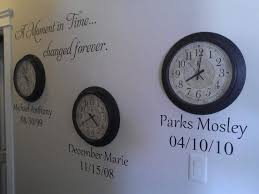 A Moment In Time Changed Forever Birth Dates Vinyl Decal Wall Etsy Decal Wall Art Vinyl Wall Decals A Moment In Time