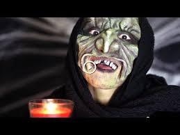 creepy witch makeup