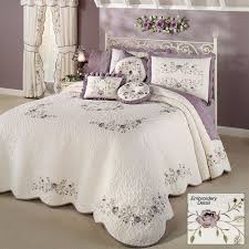 antique bloom fl oversized quilted