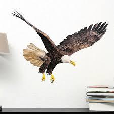 Loon Peak Ballachino Flying Eagle Wall Decal Wayfair