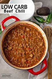 low carb chili recipe no bean chili