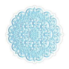 Mandala Pattern Henna Floral Car Sticker Decal Ebay