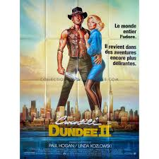 CROCODILE DUNDEE II Movie Poster 47x63 in.